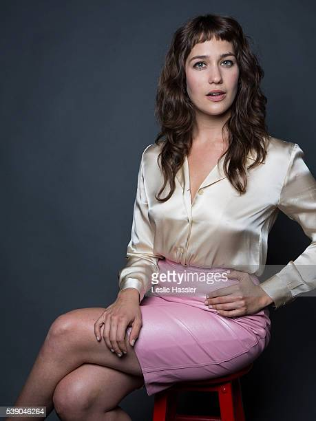 Actress Lola Kirke is photographed for Glamourcom on April 16 2016 in New York City
