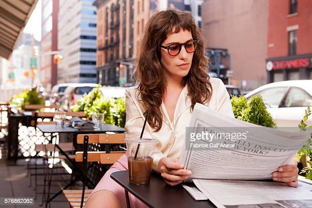 Actress Lola Kirke is photographed for Vanity Faircom on April 19 2016 in New York City