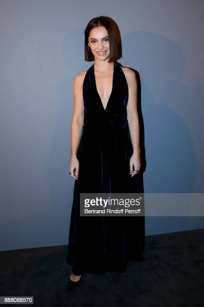 Actress Lola Le Lann attends the Annual Charity Dinner hosted by the AEM Association Children of the World for Rwanda at Pavillon Ledoyen on December...