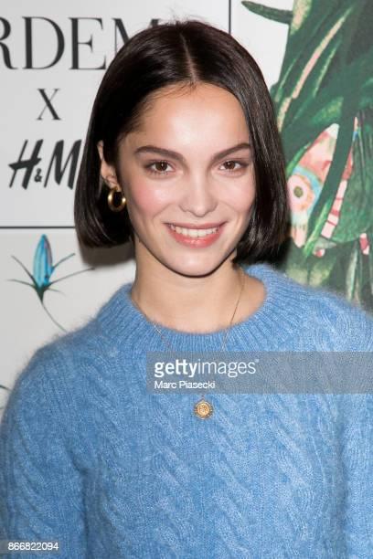 Actress Lola Le Lann attends the 'ERDEM X HM' Paris Collection Launch at Hotel du Duc on October 26 2017 in Paris France