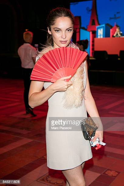 Actress Lola Le Lann attends the Sonia Rykiel Lancome Paris Party as part of Paris Fashion Week on July 6 2016 in Paris France