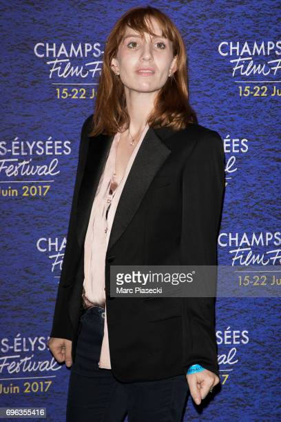 Actress Lolita Chammah attends the 6th 'ChampsElysees Film Festival' at Cinema Gaumont Marignan on June 15 2017 in Paris France