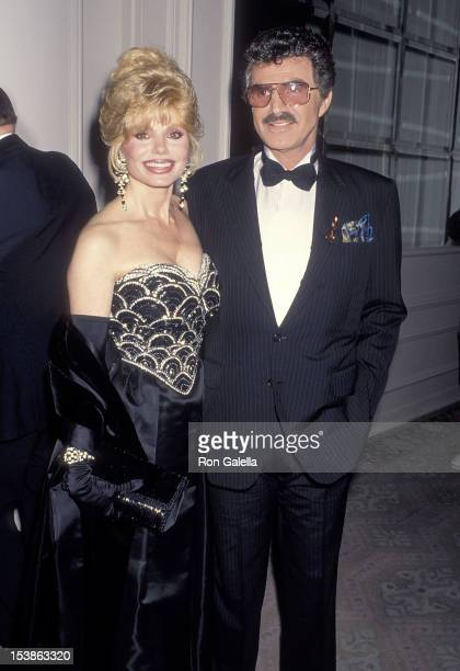 Actress Loni Anderson and actor Burt Reynolds attend the Friars Club of California's 14th Annual Lifetime Achievement Award Salute to Burt Reynolds...