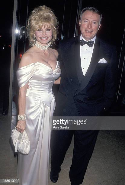 Actress Loni Anderson and boyfriend Geoff Brown attend the Michael Bolton Foundation and Barry Bonds Family Foundation's First Annual Field of Dreams...