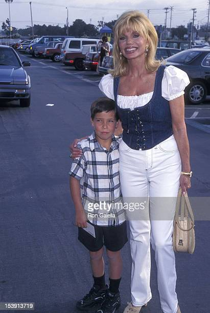 Actress Loni Anderson and son Quinton Reynolds The Greatest Show on Earth Ringling Brothers and Barnum Bailey 127th Editiion to Benefit the Vaierty...