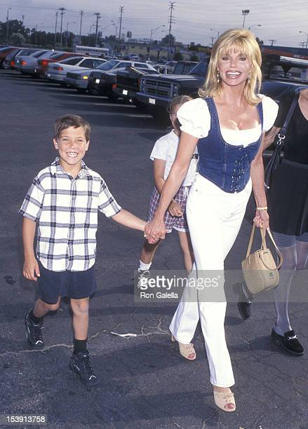 """Actress Loni Anderson and son Quinton Reynolds """"The Greatest Show on Earth"""" Ringling Brothers and Barnum & Bailey 127th Editiion to Benefit the..."""