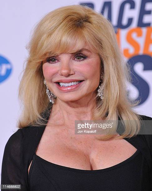 Actress Loni Anderson arrives at the 17th Annual Race To Erase MS Gala at the Hyatt Regency Century Plaza on May 7 2010 in Century City California
