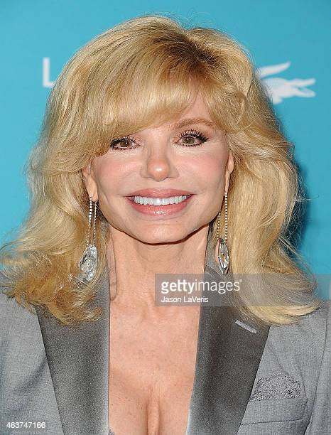 Actress Loni Anderson attends the 17th Costume Designers Guild Awards at The Beverly Hilton Hotel on February 17 2015 in Beverly Hills California