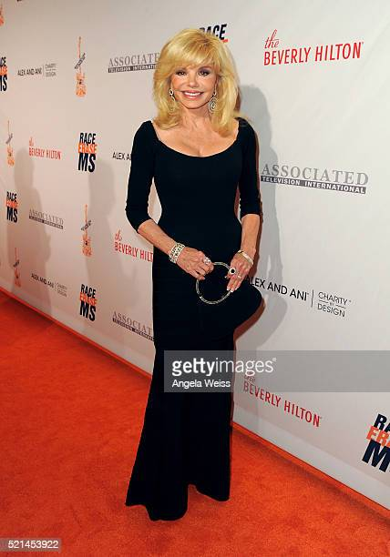 Actress Loni Anderson attends the 23rd Annual Race To Erase MS Gala at The Beverly Hilton Hotel on April 15 2016 in Beverly Hills California