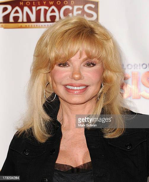 Actress Loni Anderson attends the premiere of 'Sister Act' at the Pantages Theatre on July 9 2013 in Hollywood California