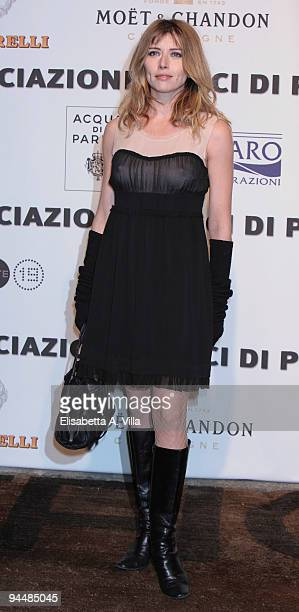 Actress Loredana Cannata attends Gala Dinner In Favour Of Pietro Gamba Association at Officine Farneto on December 15 2009 in Rome Italy