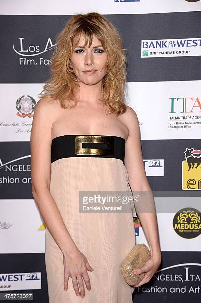 Actress Loredana Cannata attends the 9th Annual LA Italia Film Fashion And Art's Festival Closing Night Awards Ceremony at TCL Chinese Theatre on...