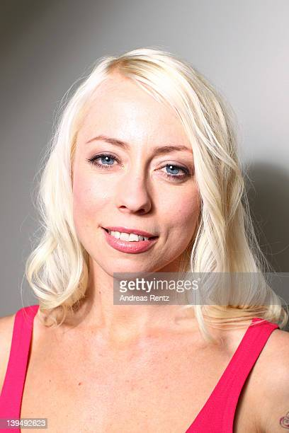 Actress Lorelei Lee attends 'Cherry' Portrait Session during day eight of the 62nd Berlin International Film Festival on February 16 2012 in Berlin...