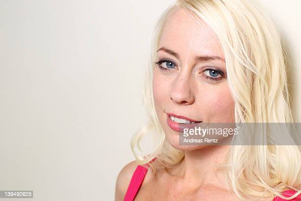 Actress Lorelei Lee attends 'Cherry' Portrait Session during day eight of the 62nd Berlin International Film Festival on February 16, 2012 in Berlin,...