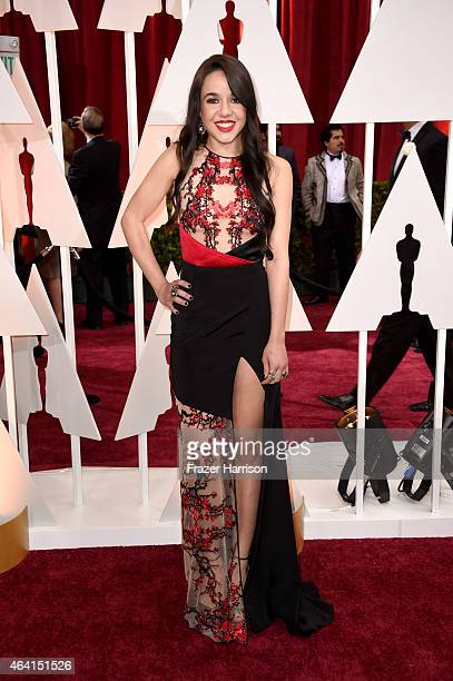Actress Lorelei Linklater attends the 87th Annual Academy Awards at Hollywood Highland Center on February 22 2015 in Hollywood California
