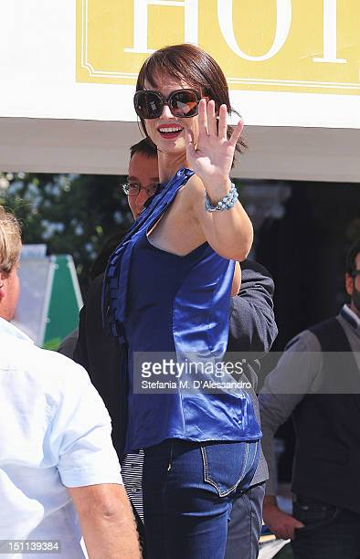 Actress Lorena Bianchetti attends the La Nave Dolce during the 69th Venice Film Festival on September 2 2012 in Venice Italy