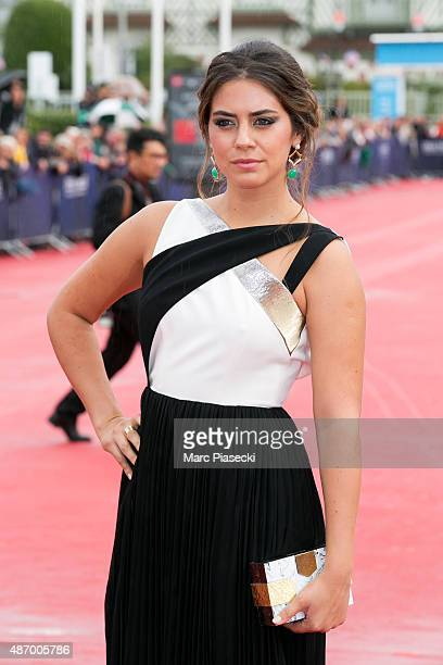 Actress Lorenza Izzo attends the 'Knock Knock' Premiere during the 41st Deauville American Film Festival on September 5 2015 in Deauville France