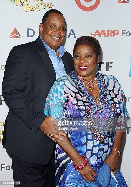 "Actress Loretta Devine and husband Glenn Marshall attend MPTF's 95th anniversary celebration ""Hollywood's Night Under The Stars"" on October 1, 2016..."