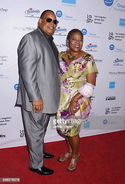 Actress Loretta Devine and husband Glenn Marshall attend the 2016 LA Greek Film Festival premiere of 'Worlds Apart' at the Egyptian Theatre on June 5...