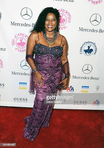 Actress Loretta Devine arrives at the 26th Anniversary Carousel Of Hope Ball presented by MercedesBenz at The Beverly Hilton Hotel on October 20 2012...
