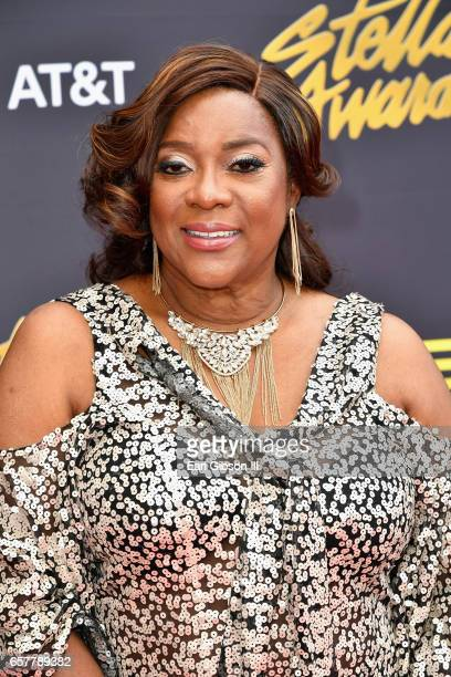Actress Loretta Devine arrives at the 32nd annual Stellar Gospel Music Awards at the Orleans Arena on March 25 2017 in Las Vegas Nevada