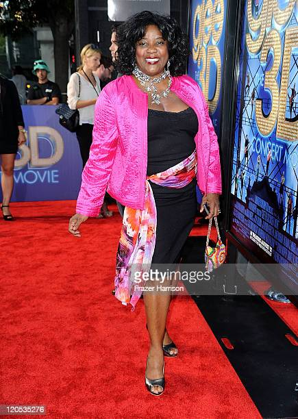 """Actress Loretta Devine arrives at the Premiere Of Twentieth Century Fox's """"Glee The 3D Concert Movie"""" at the Regency Village Theater on August 6,..."""