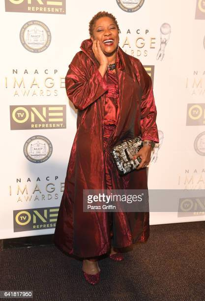 Actress Loretta Devine attends 48th NAACP Image Dinner at Pasadena Convention Center on February 10, 2017 in Pasadena, California.