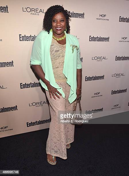 Actress Loretta Devine attends the 2015 Entertainment Weekly Pre-Emmy Party at Fig & Olive Melrose Place on September 18, 2015 in West Hollywood,...