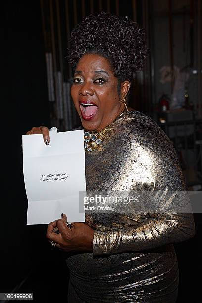 Actress Loretta Devine attends the 44th NAACP Image Awards at The Shrine Auditorium on February 1 2013 in Los Angeles California