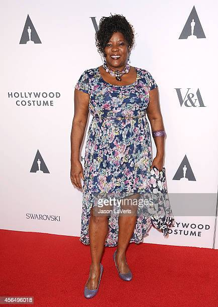 Actress Loretta Devine attends the Academy of Motion Picture Arts and Sciences' Hollywood costume opening party at Wilshire May Company Building on...