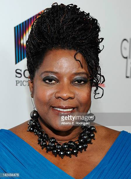 Actress Loretta Devine attends the red carpet launch party for Lifetime and Sony Pictures' The Client List at Sunset Tower on April 4 2012 in West...