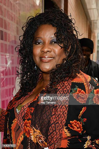 Actress Loretta Devine enters the Wendy Williams Show taping at the AMV Studios on April 18 2012 in New York City
