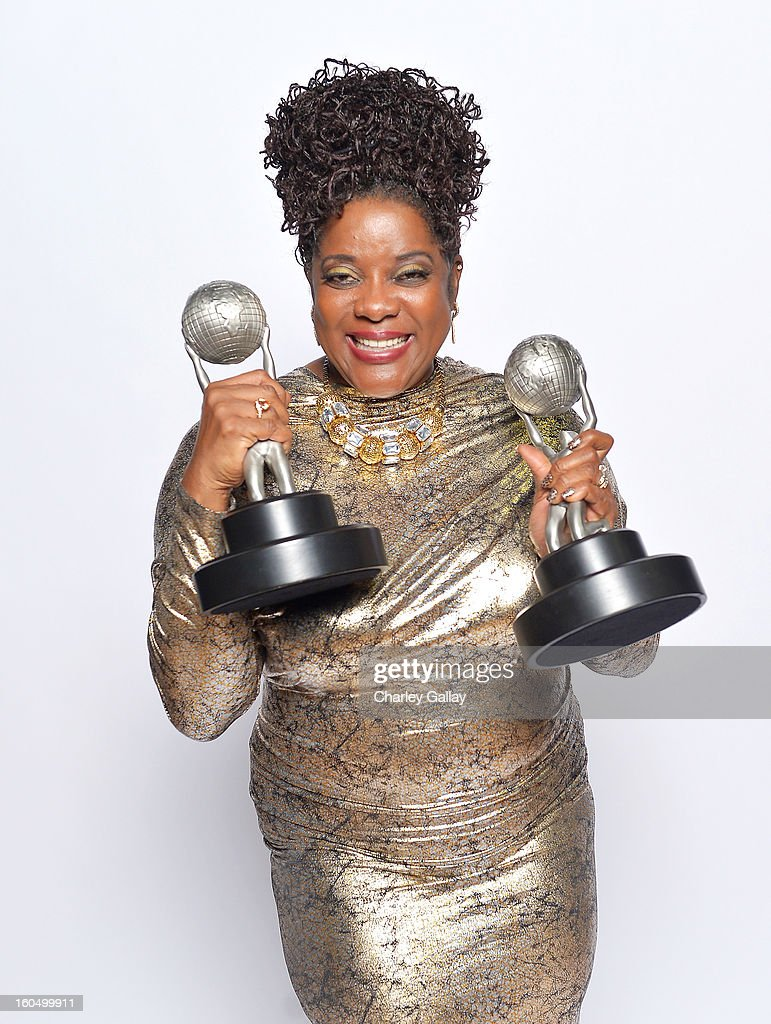 Actress Loretta Devine, winner of Outstanding Supporting Actress in a Drama Series for 'Grey's Anatomy', poses for a portrait during the 44th NAACP Image Awards at The Shrine Auditorium on February 1, 2013 in Los Angeles, California.
