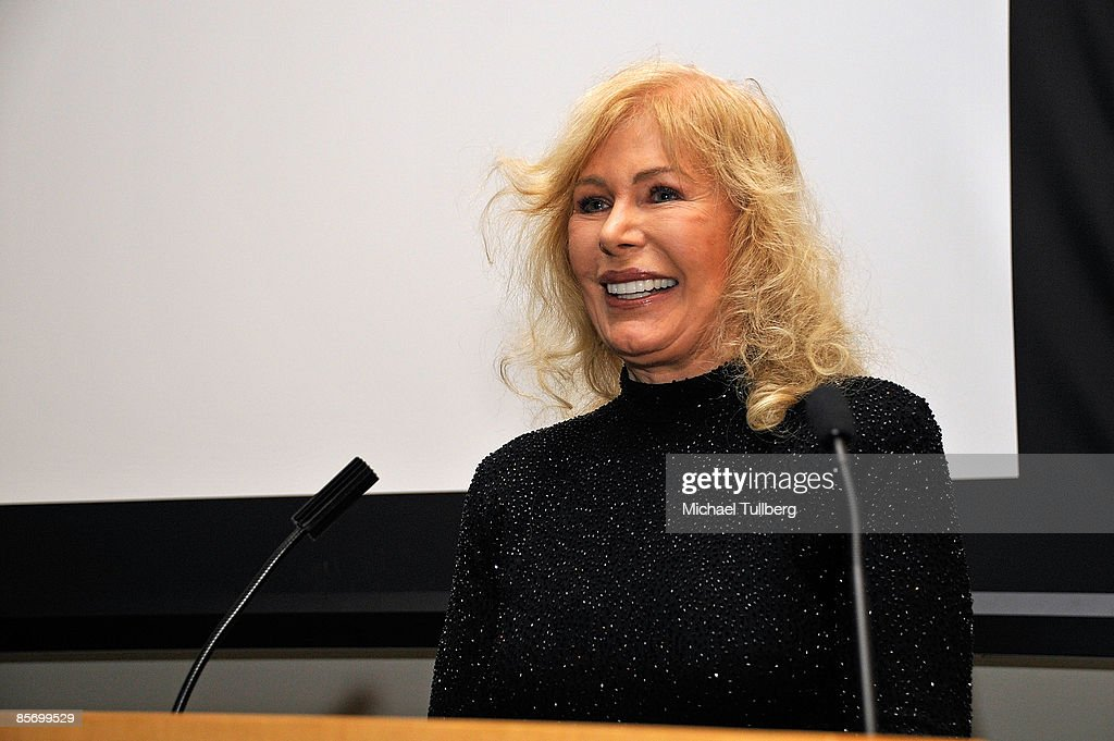 Actress Loretta Swit accepts the award for Achievement in Television at the Closing Night Gala for the 1st Annual Burbank International Film Festival, held at Woodbury University on March 29, 2009 in Burbank, California.