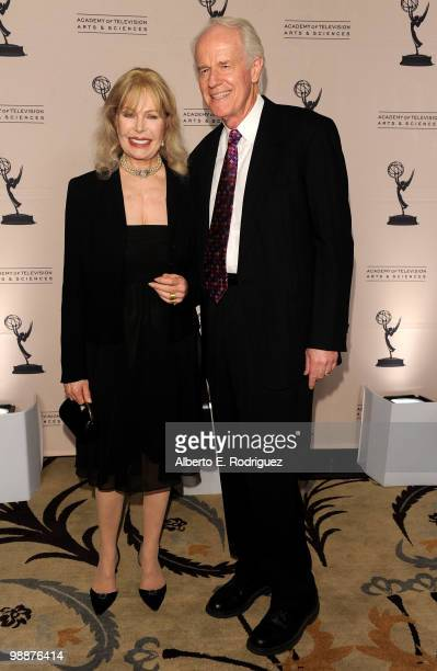 Actress Loretta Swit and actor Mike Farrell arrive at the Academy of Television Arts Sciences' 3rd Annual Academy Honors at the Beverly Hills Hotel...