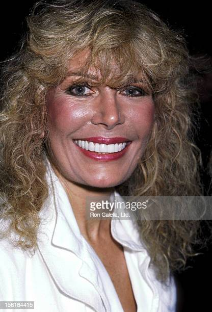 Actress Loretta Swit attends a Party for Barry Nelson's Return to the Broadway Stage in '42nd Street' on July 29 1986 at Capriccio Restaurant in New...