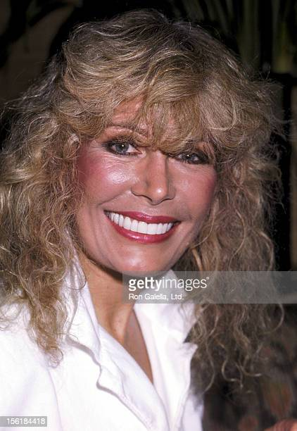 Actress Loretta Swit attends a Party for Barry Nelson's Return to the Broadway Stage in '42nd Street' on July 29, 1986 at Capriccio Restaurant in New...