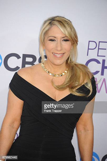 Actress Lori Greiner arrives at the People's Choice Awards 2013 held at the Nokia Theater L A Live