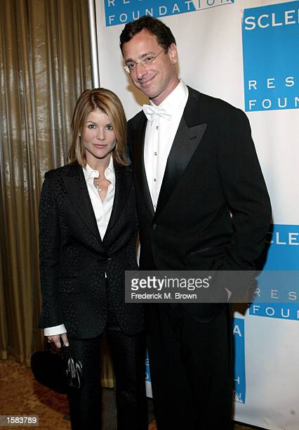 Actress Lori Loughlin and comedian Bob Saget attend the 12th Annual Cool Comedy Hot Cuisine event at the Regent Beverly Wilshire Hotel November 1,...