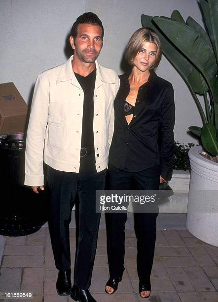 Actress Lori Loughlin and husband Mossimo Giannulli attend the Party to Celebrate the Release of Janet Jackson's New Album The Velvet Rope on...