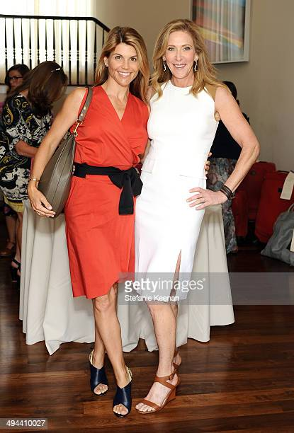 Actress Lori Loughlin and Janet Crown attend Annual PS ARTS Bag Lunch on May 29 2014 in Los Angeles California