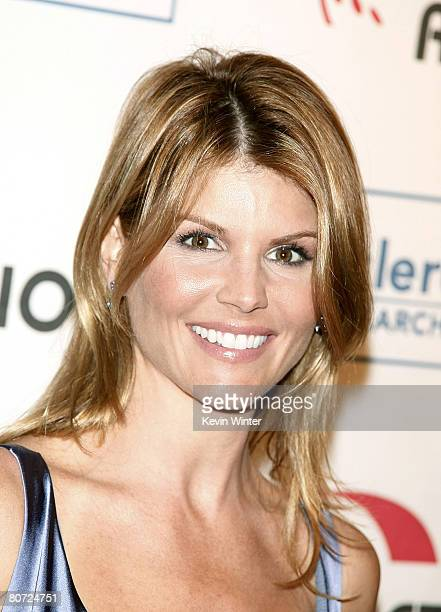 Actress Lori Loughlin arrives at Cool Comedy - Hot Cuisine benefiting the Scleroderma Research Foundation at the Beverly Wilshire Hotel on April 16,...