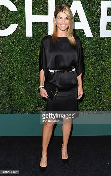 Actress Lori Loughlin arrives at Michael Kors Celebrates The Launch Of Claiborne Swanson Frank's 'Young Hollywood' Portrait Book on October 2 2014 in...