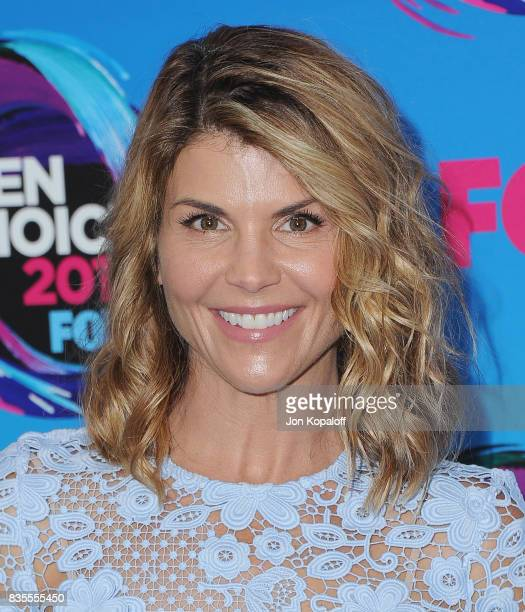 Actress Lori Loughlin arrives at the Teen Choice Awards 2017 at Galen Center on August 13 2017 in Los Angeles California