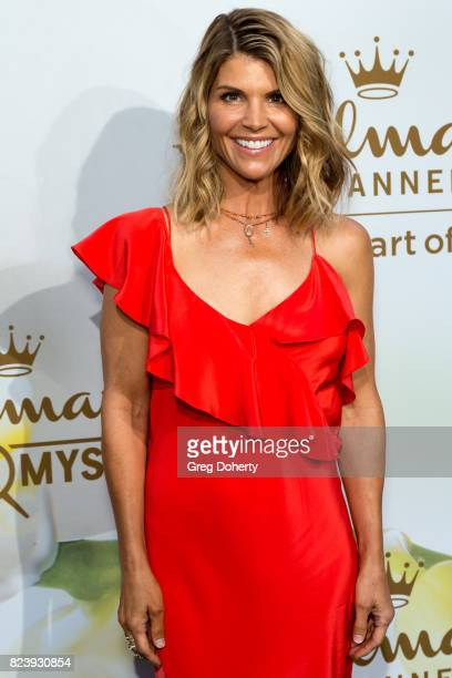 Actress Lori Loughlin arrives for the 2017 Summer TCA Tour Hallmark Channel And Hallmark Movies And Mysteries on July 27 2017 in Beverly Hills...