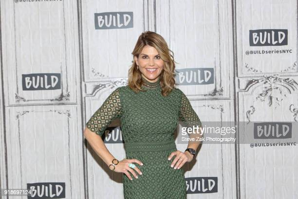Actress Lori Loughlin attends Build Series to discuss her show 'When Calls The Heart' and 'Fuller House' at Build Studio on February 15 2018 in New...