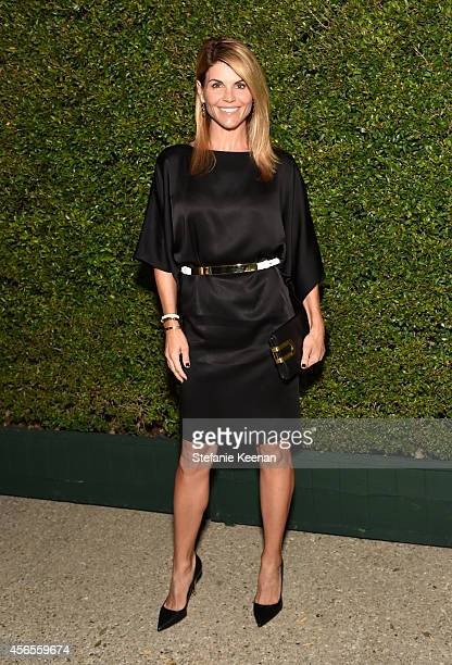 Actress Lori Loughlin attends Claiborne Swanson Frank's Young Hollywood book launch hosted by Michael Kors at Private Residence on October 2 2014 in...