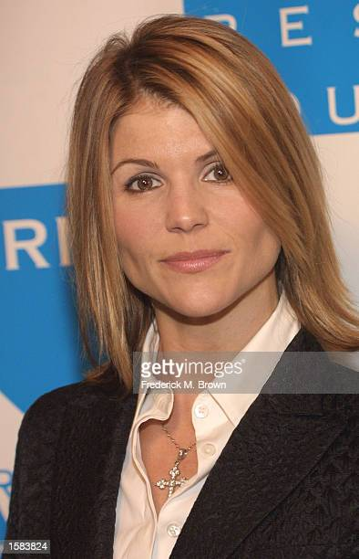 Actress Lori Loughlin attends the 12th Annual Cool Comedy Hot Cuisine event at the Regent Beverly Wilshire Hotel November 1, 2002 in Beverly Hills,...