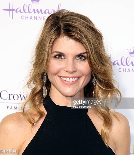 Actress Lori Loughlin attends the 2015 Television Critics Association Press Tour Hallmark Channel and Hallmark Movies Mysteries at Tournament House...