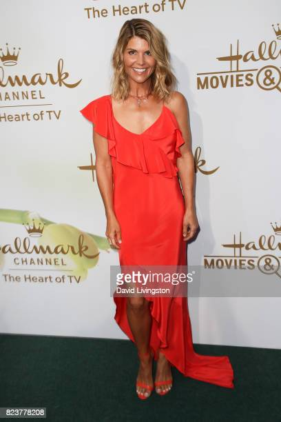 Actress Lori Loughlin attends the Hallmark Channel and Hallmark Movies and Mysteries 2017 Summer TCA Tour on July 27 2017 in Beverly Hills California